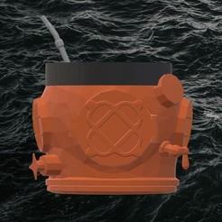 dive3.jpg Download STL file MATE MARK V CUT • 3D printing template, TROISI