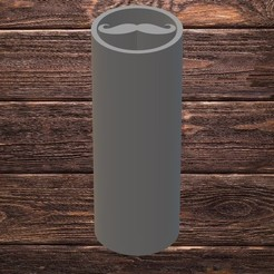 must.jpg Download STL file FILTER TIP - MUSTACHE • Template to 3D print, TROISI