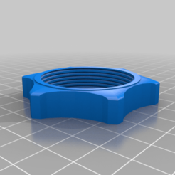 Download free STL files Fan thread 40mm, TROISI