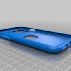 iPhone_11_Flex.png Download STL file iPhone 11 FLEX case • 3D print model, TROISI