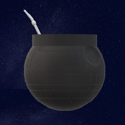 Download 3D printer designs MATTE DEATH STAR, TROISI