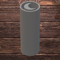 on.jpg Download STL file FILTER TIP - MOON • 3D print design, TROISI
