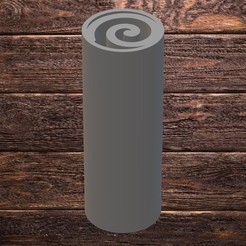 spiral.jpg Download STL file FILTER TIP - SPIRAL • 3D printer template, TROISI