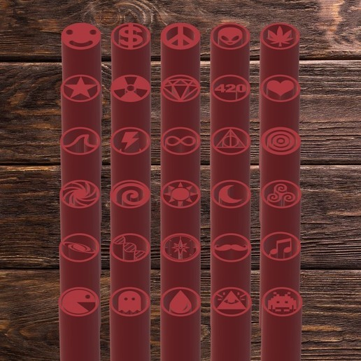 Descargar archivo STL FILTER TIPS - 30 TIPS PACK • Diseño para la impresora 3D, TROISI