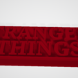 Fichier impression 3D gratuit Logo STRANGERS THINGS, FANTOMAS