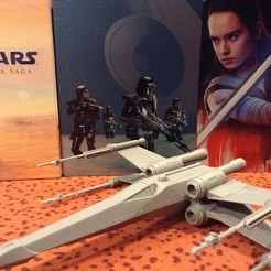 IMG_0862.JPG Download free STL file Star wars: x-Wing • 3D printing design, FANTOMAS