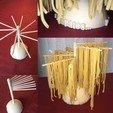 Fichier impression 3D Sécheur de pâtes 3D, stlhugues