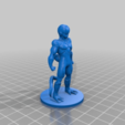 Download free STL file Freeza With Base Plate • Template to 3D print, JeenyusPete