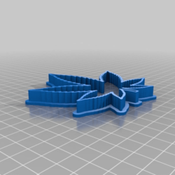 Download free STL file Cannabis Cookie Cutter Fixed for FDM Printing • 3D print design, JeenyusPete
