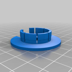 Download free STL file 1 inch plug with wider top and Slotted Vr • 3D printing design, JeenyusPete