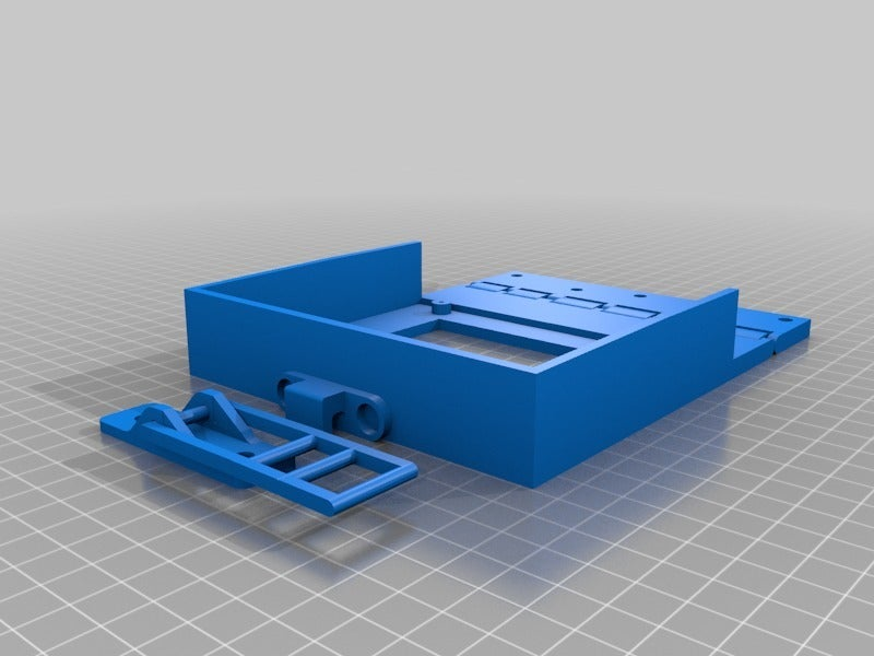 5a41ebb6fb437d7cd579ae8e332806b6.png Download free STL file Hinged, Hooked, CR 10(S) LCD screen mount. • 3D printable model, JeenyusPete