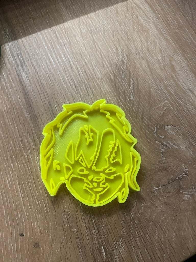 image.jpg Télécharger fichier STL gratuit Coupe-biscuit et timbre Chucky • Objet à imprimer en 3D, JeenyusPete
