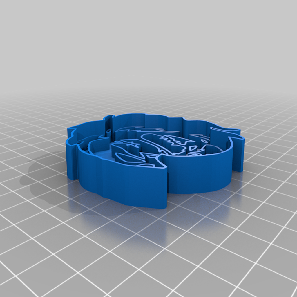Chucky_Cookie_Cutter.png Download free STL file Chucky Cookie Cutter And Stamp • 3D printable design, JeenyusPete