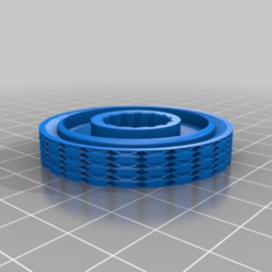 Download free STL file CR-10(S) bed level adjustment knob knurled like grip • Object to 3D print, JeenyusPete