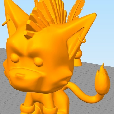 Download free 3D printer designs RED XIII Final Fantasy 7, JeenyusPete