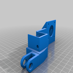 Bondtech_Extruder_Mount_CR-10S_With_Roller_Wheel.png Download free STL file CR-10S BondTech Extruder Mount With Roller • 3D printing design, JeenyusPete