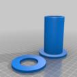 Télécharger fichier STL gratuit L'engraisseur de bobines CR-10S avec anneaux de retenue ! • Objet pour imprimante 3D, JeenyusPete