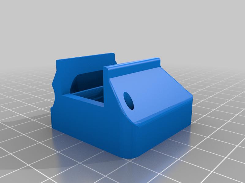 microswiss_fan_shroud_Clean.png Download free STL file Microswiss Fan Shroud Light Version! • 3D printable design, JeenyusPete