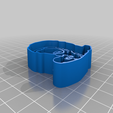 Hannibal_Cookie_Cutter.png Download free STL file Hannibal Lecter Cookie Cutter • 3D printable template, JeenyusPete