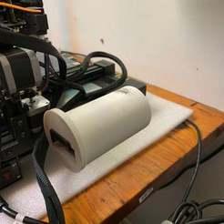 DDBDC202-DEEB-4BE2-B2AA-C06A03F08522.jpeg Download free STL file Anycubic Chiron Round Spool Slip Adapter • 3D printable model, JeenyusPete