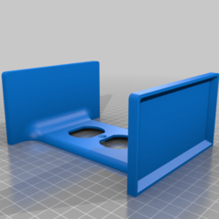 Outlet_Double_Shelf_Vertical.png Download free STL file Double Shelf Outlet Cover, Vertical • 3D printing design, JeenyusPete