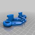 Télécharger fichier STL gratuit CR-10S Keenovo heater beefier stress/strain relief with zip loops • Objet à imprimer en 3D, JeenyusPete
