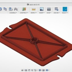 Imprimir en 3D Cubierta de la cuba para Resin LCD Flyingbear Shine, H-Tiberius