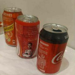 can.JPG Télécharger fichier STL Coca can empty  • Design à imprimer en 3D, diyfunproject