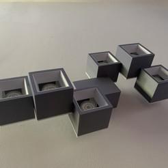 IMG_1576.JPG Download STL file Ceiling LED Lamp • 3D print template, mouset74