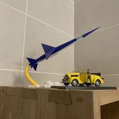 2.jpg Download STL file Blake and Mortimer - Swordfish • Object to 3D print, mouset74