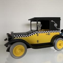 IMG_2054.jpg Download STL file Gaston Lagaffe Car • 3D print model, mouset74