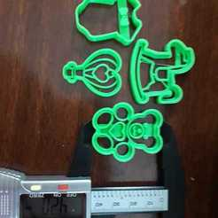 Télécharger objet 3D cœur en ballon, fmarianelag