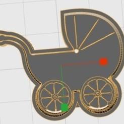 3D printer files baby carriage, fmarianelag