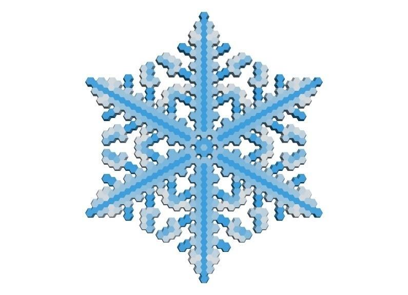 d9d11663b56f95dc483be7dfe04bdd34_display_large.jpg Download free STL file Snowflake growth simulation in BlocksCAD • 3D printing design, arpruss