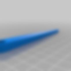 Télécharger fichier SCAD gratuit Piquet de terre pour les cordes (marquage des tribunaux, jardinage, etc.) • Design imprimable en 3D, arpruss