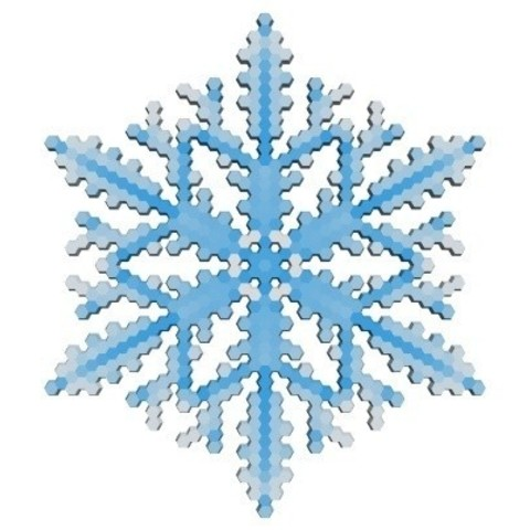 420c3545d42a34590a2e08e44fe4866d_display_large.jpg Download free STL file Snowflake growth simulation in BlocksCAD • 3D printing design, arpruss