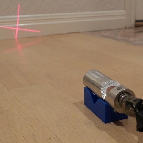 Télécharger fichier 3D gratuit Collimateur collimateur laser collimateur, arpruss