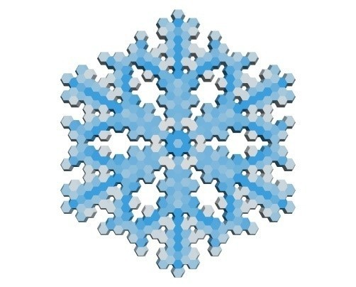 3676ae4012b5133c3dc37dd884a42f02_display_large.jpg Download free STL file Snowflake growth simulation in BlocksCAD • 3D printing design, arpruss