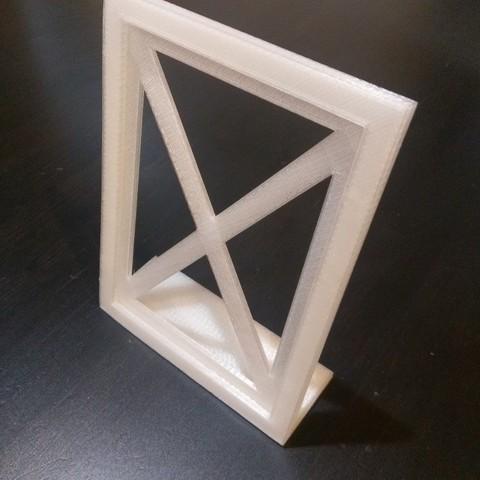 Télécharger modèle 3D gratuit Cadre photo personnalisable, arpruss