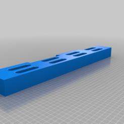 hangboard.png Télécharger fichier SCAD gratuit Une simple planche d'escalade • Plan imprimable en 3D, arpruss