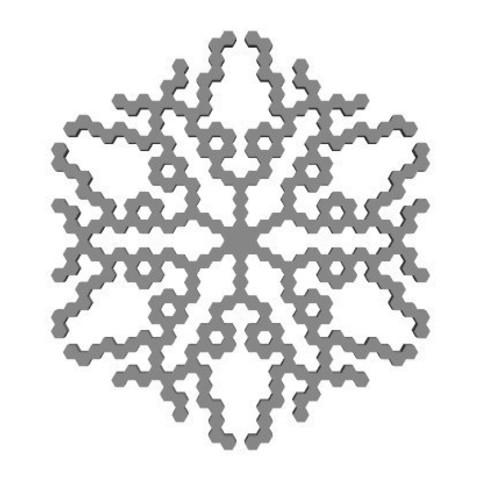 a03541ac111820f502aff825964e6257_display_large.jpg Télécharger fichier STL gratuit Automate cellulaire BlocsGénérateur de flocons de neige CAO • Design imprimable en 3D, arpruss