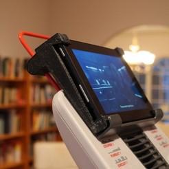 """Télécharger plan imprimante 3D gatuit Monture Schwinn 420 pour Kindle Fire 7"""", 5ème génération., arpruss"""