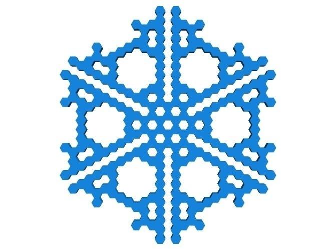 cbb6415f42bc68f55f903333c5a6f923_display_large.jpg Télécharger fichier STL gratuit Automate cellulaire BlocsGénérateur de flocons de neige CAO • Design imprimable en 3D, arpruss