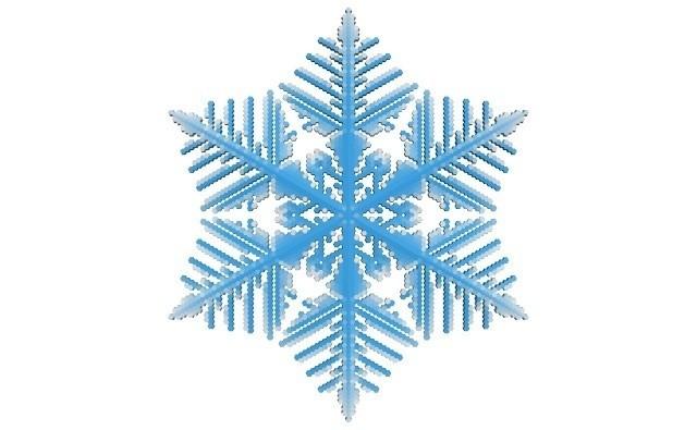 b267f45740ab0142144d3d47f82f6426_display_large.jpg Download free STL file Snowflake growth simulation in BlocksCAD • 3D printing design, arpruss