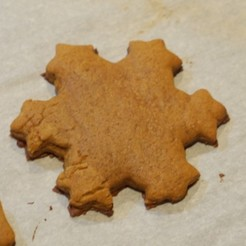 Free 3d model Koch snowflake cookie cutter, arpruss