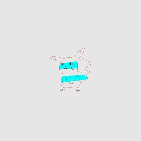 ae714e656e1f4d3557b37e95e3005dcc_display_large.jpg Download free STL file Pikachu cookie cutter, via an Inkscape extension • 3D printing template, arpruss