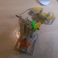 Fichier imprimante 3D gratuit Pièce de renfort Thames et Kosmos pour bras de robot, arpruss