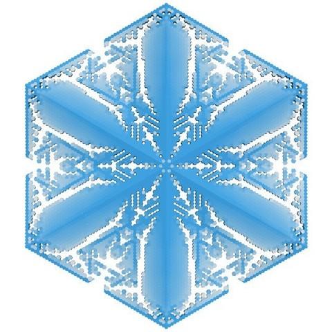 c66f8c3ce2f8d954cdd993ee46bc66d1_display_large.jpg Download free STL file Snowflake growth simulation in BlocksCAD • 3D printing design, arpruss