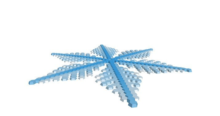 0c28b0ba920f61ab85d6aa42feb17e8c_display_large.jpg Download free STL file Snowflake growth simulation in BlocksCAD • 3D printing design, arpruss