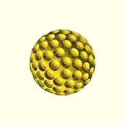 Télécharger fichier 3D gratuit Générateur de balle de golf, arpruss